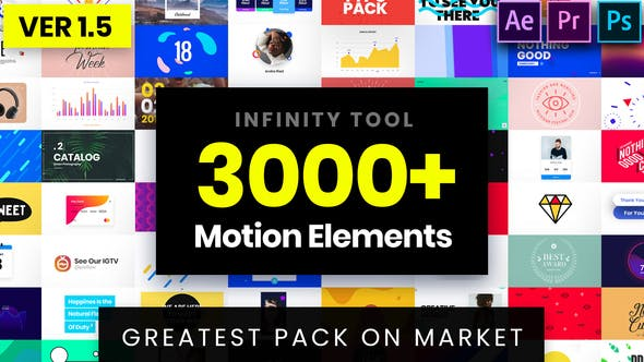 Videohive Infinity Tool - Greatest Pack for Video Creators