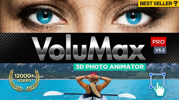 Videohive VoluMax - 3D Photo Animator v5 2 Pro - Free